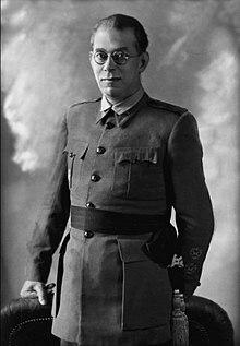 Emilio Mola Vidal (Placetas, 9 de julio de 1887-Alcocero, 3 de junio de 1937)