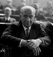 Francisco Largo Caballero (Madrid, 15 de octubre de 1869-París, 23 de marzo de 1946)