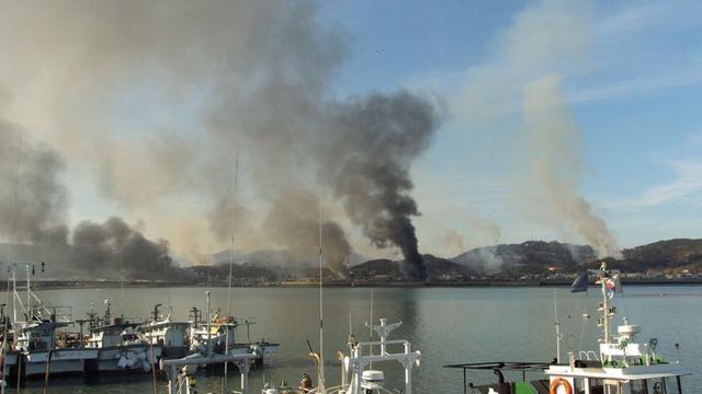 Attacco al porto di Yantai