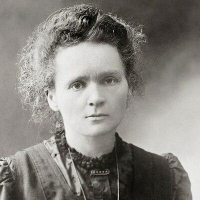 La vie de Marie Curie timeline