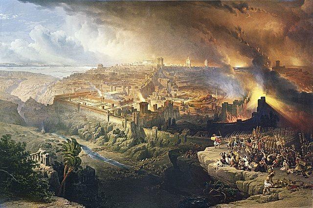 Destruccion del Templo de Jerusalén