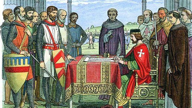 Declaración de la Magna Carta (1215)