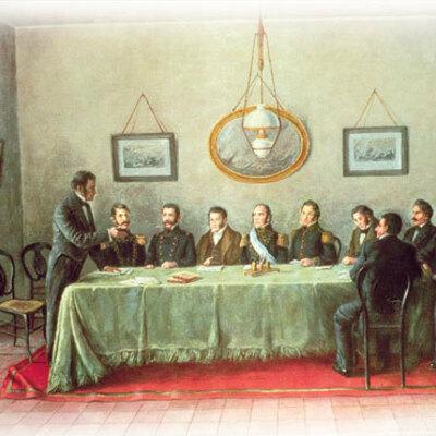 LA ORGANIZACIÓN NACIONAL (1852 - 1880) timeline