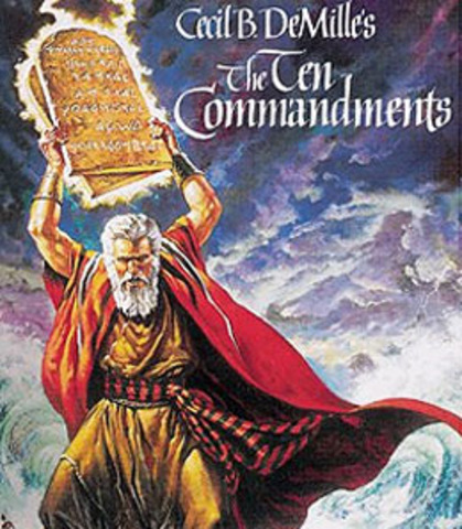 The Ten Commandments, Cecil B. DeMille, 1923