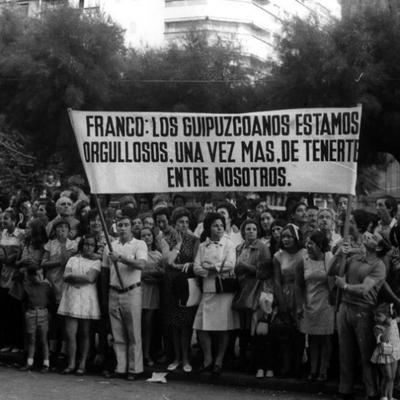 EL FRANQUISMO EN EL PAIS VASCO timeline