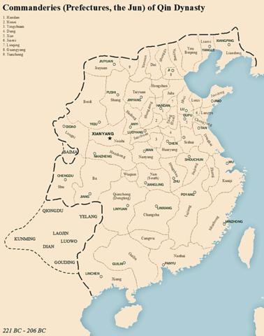 Los Qin (Chin) unifican China