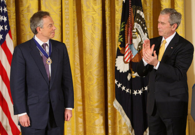 Tony Blair Steps Down