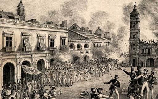 Termino de la primera intervención Francesa