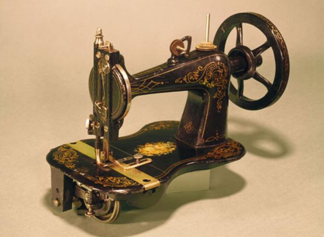 Sewing Machine Invented