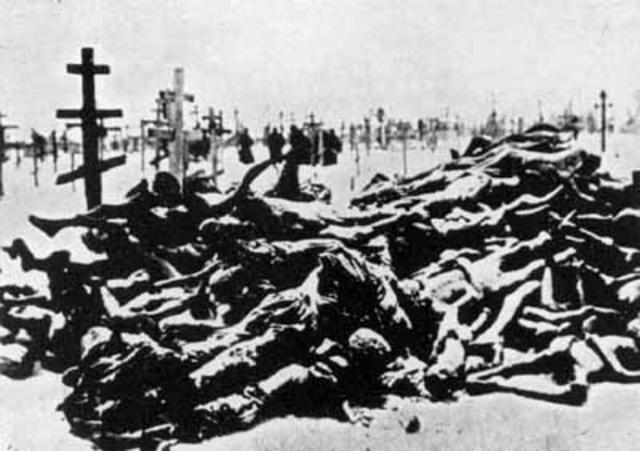 The Purges: Josef Stalin begins the mass murder of 23,000,000