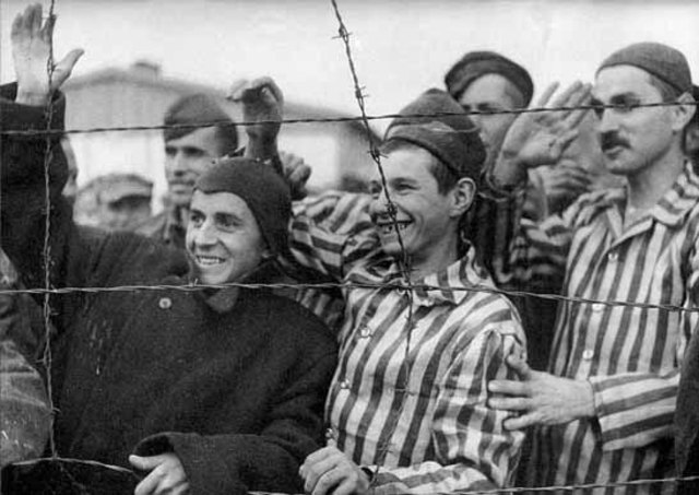 The Allies finish liberating all the Nazi concentration camps