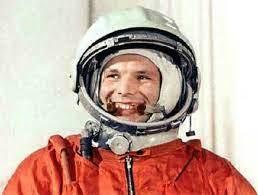 First man in space by USSR (Yuri Alekseyevich Gagarin)