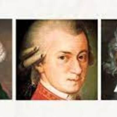 Bécsi klasszikus zeneszerzők timeline