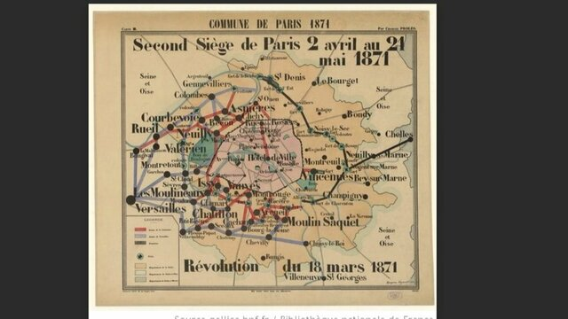 """Second """"Siege of Paris"""" begins as Versailles moves on the capital"""