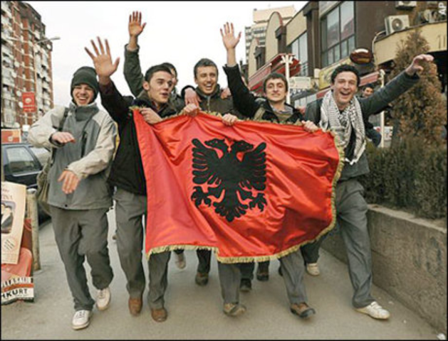 Bosnia-Herzegovina is officially recognized as an independent state