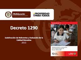 Decreto 1290