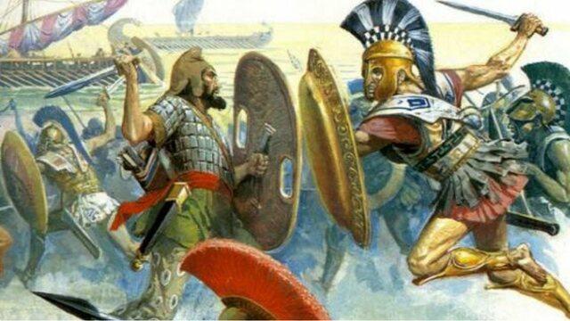 Μάχη του Μαραθώνα (Δάτης και Αρταφέρνης εναντίον του Μιλτιάδη)