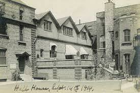 Chicago's Hull House started by Jane Addams