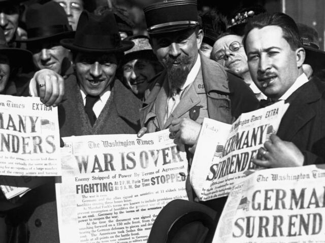Germany Declares an Armistice