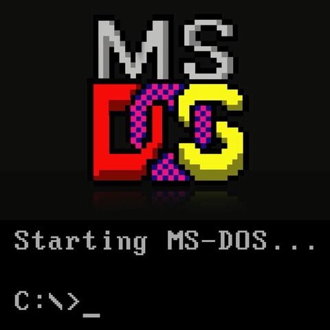 MS-DOS 1.0 (MicroSoft Disk Operating System)