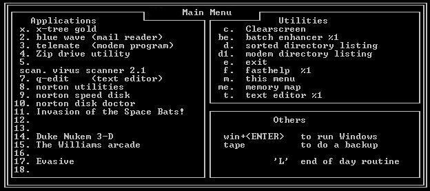MS-DOS 5.0a (MicroSoft Disk Operating System)