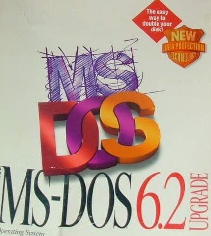 MS-DOS 6.2 (MicroSoft Disk Operating System)