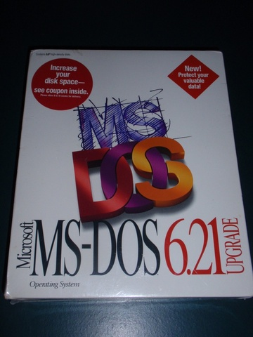 MS-DOS 6.21 (MicroSoft Disk Operating System)