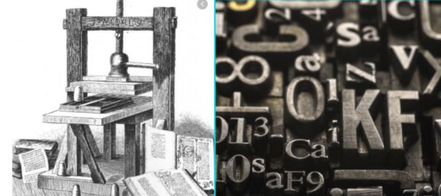 Invención de Johannes Gutenberg
