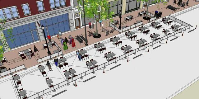 """Streatery"" Restaurant Relief Program is announced"