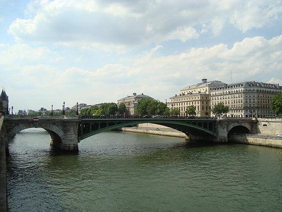 Puente de Notre-Dame. El puente Actual.