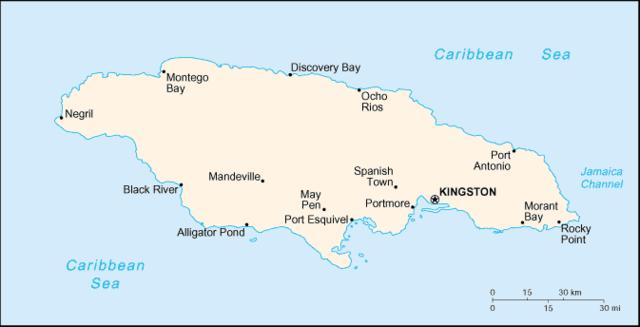 Britian obtains Jamaica