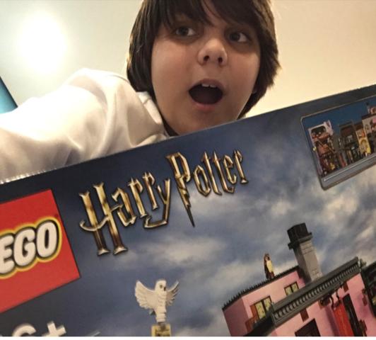 OMG DIAGON ALLEY LEGO