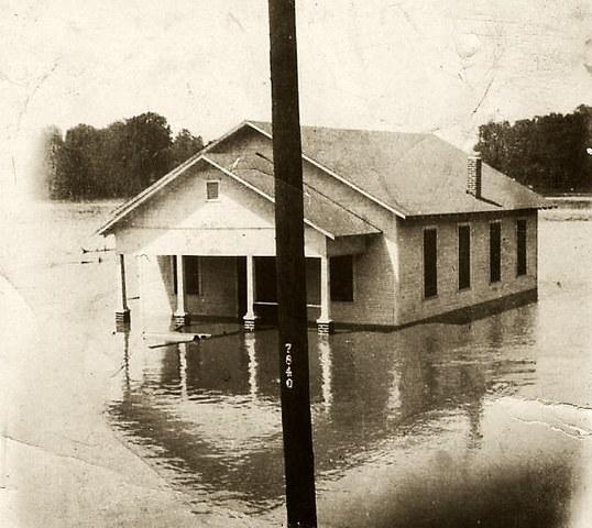 The flood.