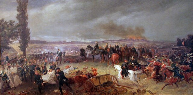 Guerra Prusia contra Austria