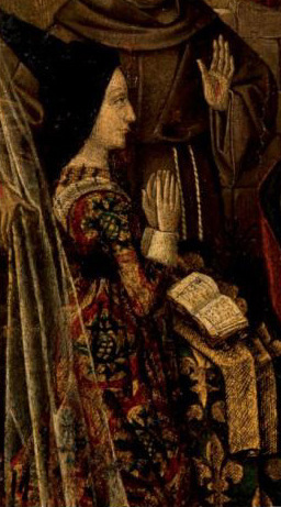 Carlota de Saboya (1441-1483). - Reina Consorte - 2ª Esposa de Luis XI.