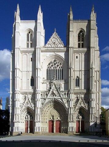 Catedral de Nantes.