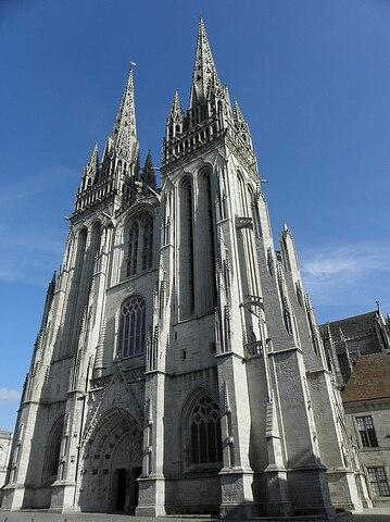 Catedral de Quimper.