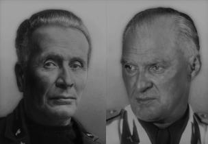 Discorsi di Giani e Muti sulla decadenza del fascismo.