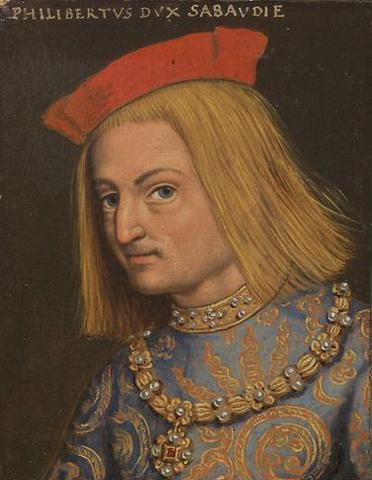 """Filiberto II de Saboya. """"El Hermoso o el Bueno""""(1480-1504)."""