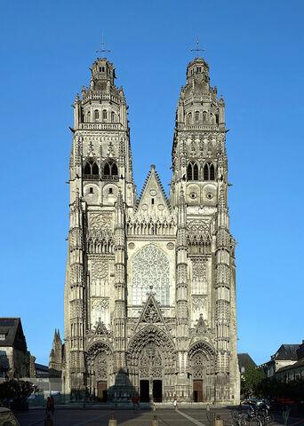 Catedral de Tours.