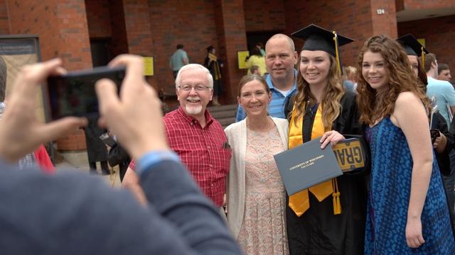 Children Graduate From College