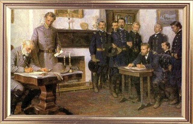 Appomattox Courthouse--Surrender