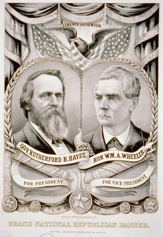 Election of 1876--Compromise of 1877