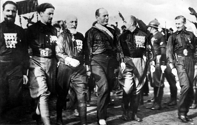 Mussolini's March on Rome