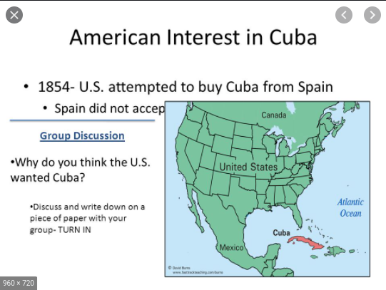 U.S. attempt to purchase Cuba