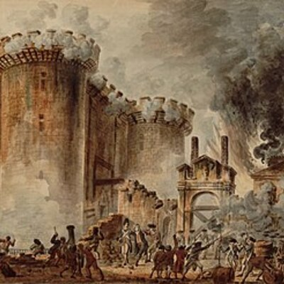 Les grands événements de la Révolution française timeline