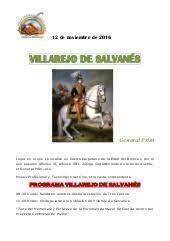 Prim se pronuncia en Villarejo sin éxito
