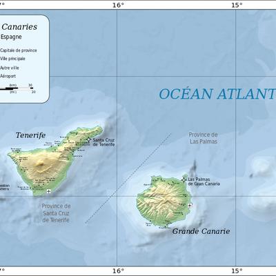 Canarias timeline