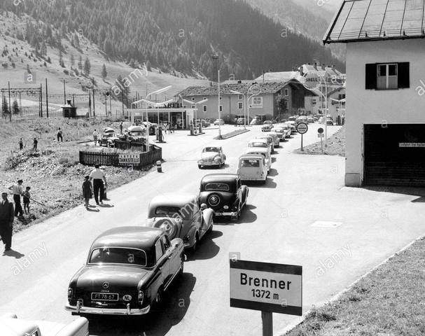 Apertura del Brennero ai rifugiati tedeschi e del nord europa in generale