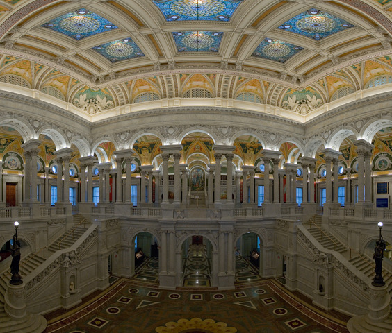 Library of Congress opened